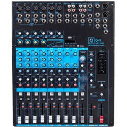 Mesa de mezclas Mixer Q12 Mk2 USB