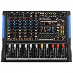 Mesa de mezclas EK AUDIO amplificada y con efectos