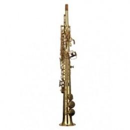 Saxofón soprano curvo Logan